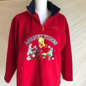 Warner Bros Studio Store Fleece Pullover - Small